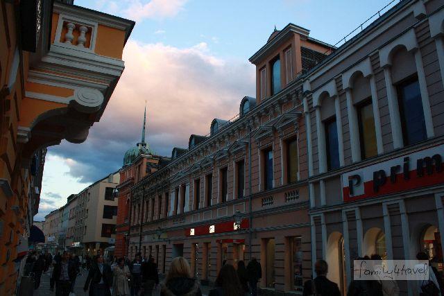 Die Fußgängerzone von Banja Luka erinnert uns sogar ein klein bisschen an zu Hause.