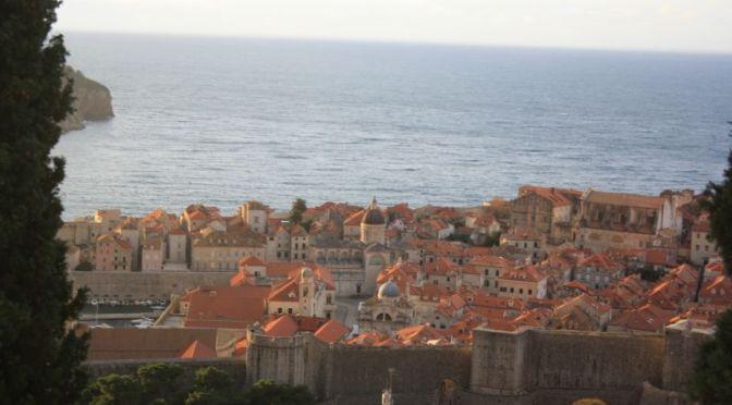 Dubrovnik, gesehen vom Balkon unserer Ferienwohnung.