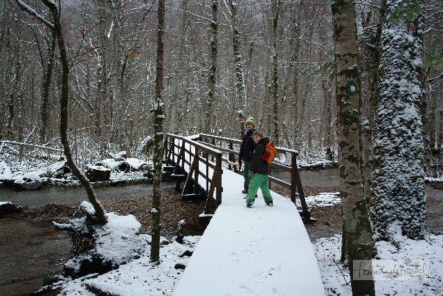 Ein guter Teil des Wanderwegs besteht aus Holzstegen, die über das weit verzweigte Flussdelta führen.
