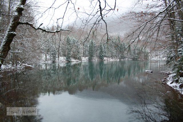 Biogradska Gora ist der größte Nationalpark Montenegros. Ideal für Wandertouren mit Familie ist der 3 km lange Lehrpfad um den See, der gleich am Parkplatz beginnt.