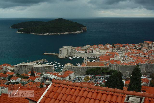 Selbst bei Mistwetter ist Dubrovnik wunderschön!