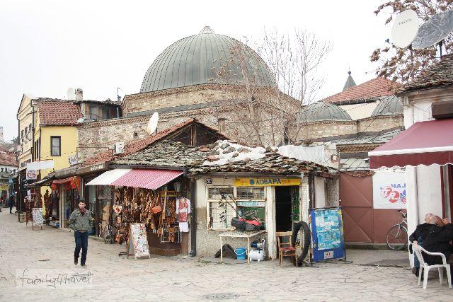 Skopjes Altstadt.