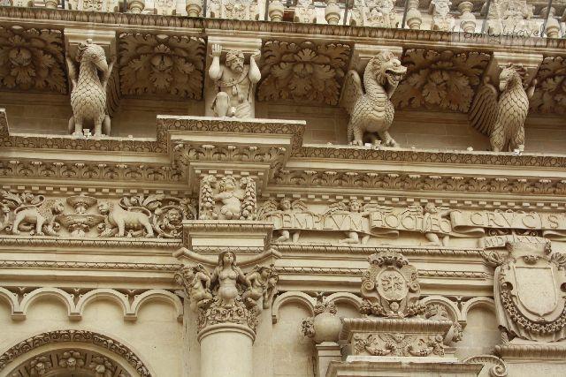 Die Details an der Basilica Santa Croce sind einfach umwerfend.