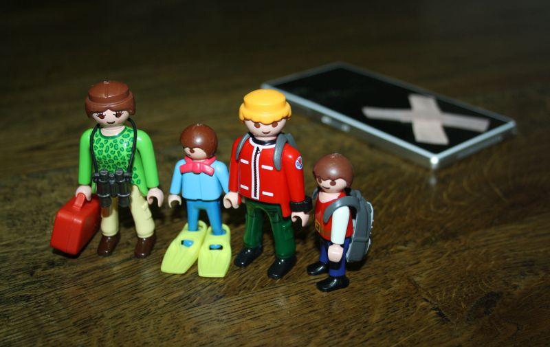 Reisen ohne Smartphone mit Kindern