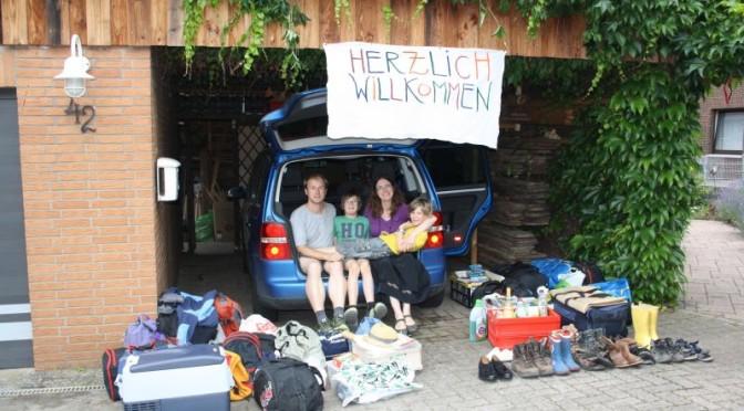 Roadtrip mit Kindern, Gepäck Langzeitreise