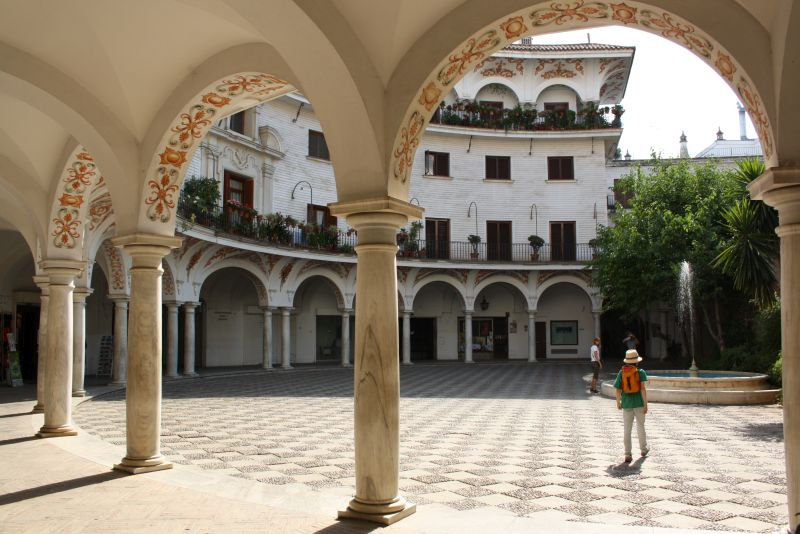 Sevilla hat überall wunderschöne Ecken.