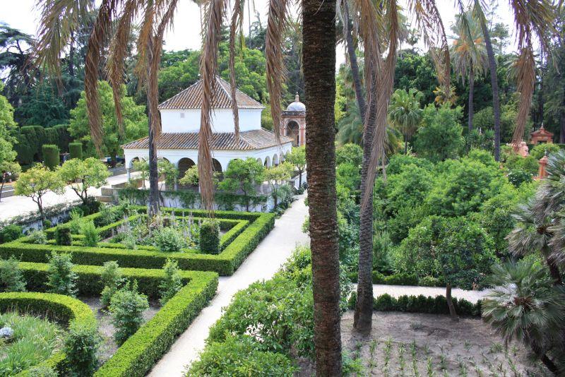 Die Gärten des Alcazar sind mindestens genauso sehenswert wie der Palast.