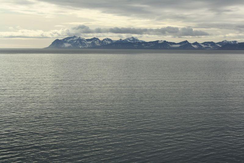 Das ist immer noch das Land... Spitzbergen, ich fasse es immer noch nicht.