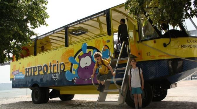 Hippo Trip: Höllenritt durch Lissabon, zu Wasser und zu Land