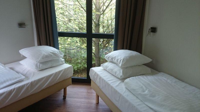 Zimmer mit Aussicht - im Baumhaus, denn andere Fotos habe ich ja leider nicht gemacht...