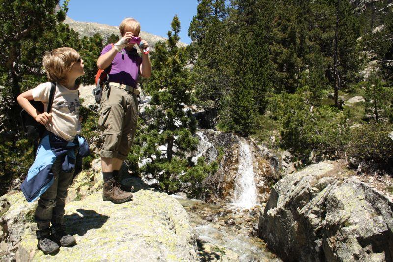 Nicht Andorra: Dieses Bild entstand in den wunderschönen spanischen Pyrenäen bei Biescas.