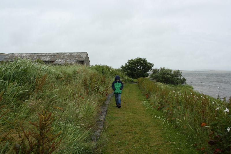 Die Sehenswürdigkeiten sind nicht weit voneinander entfernt auf Orkney, aber das Wetter kann einen das mitunter vergessen lassen.