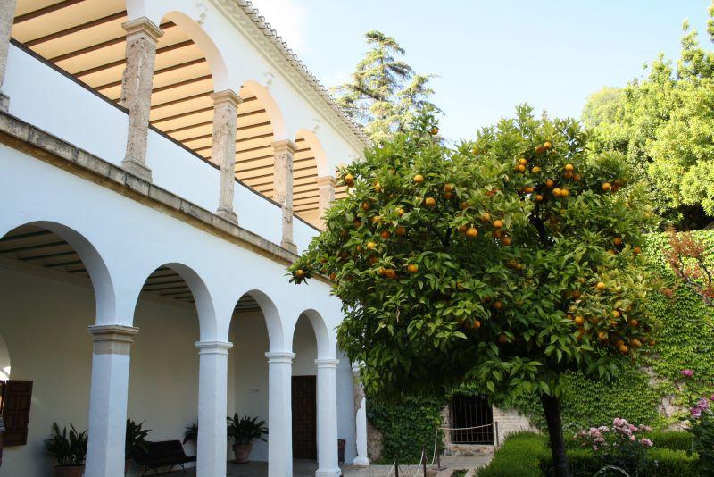 Im Generalife sind die Innenhof-Gärten quasi die Wohnzimmer.