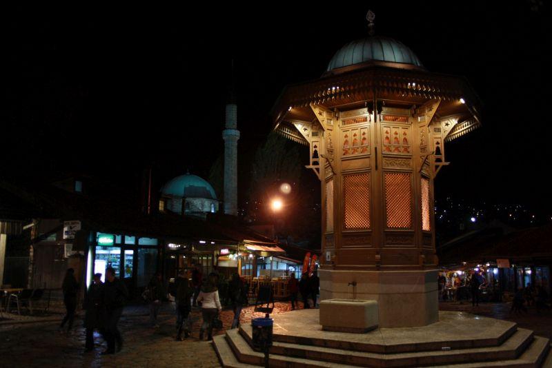 Sarajevo Altstadt, Brunnen