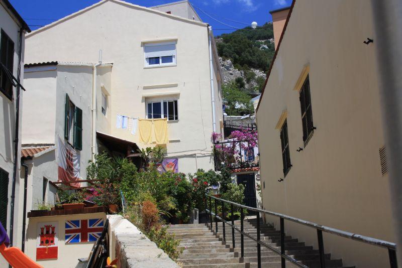 Der Union Jack im Vorgarten gehört in Gibraltar beinahe zur Standardausstattung.
