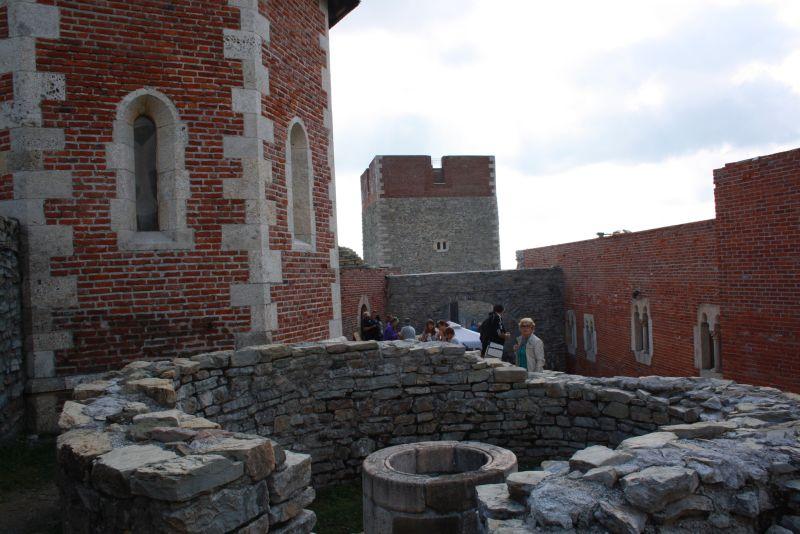 Die Ruinen von Burg Medvedgrad sind durchaus hübsch anzusehen.