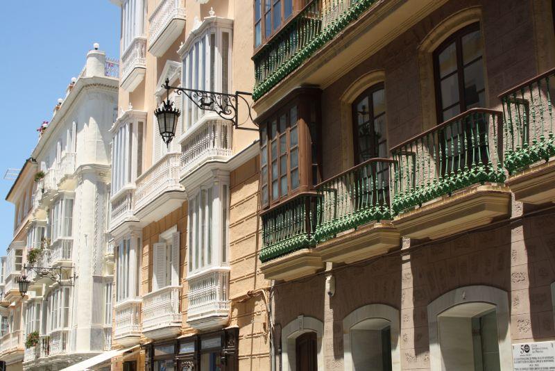 Cadiz typisch Spanien