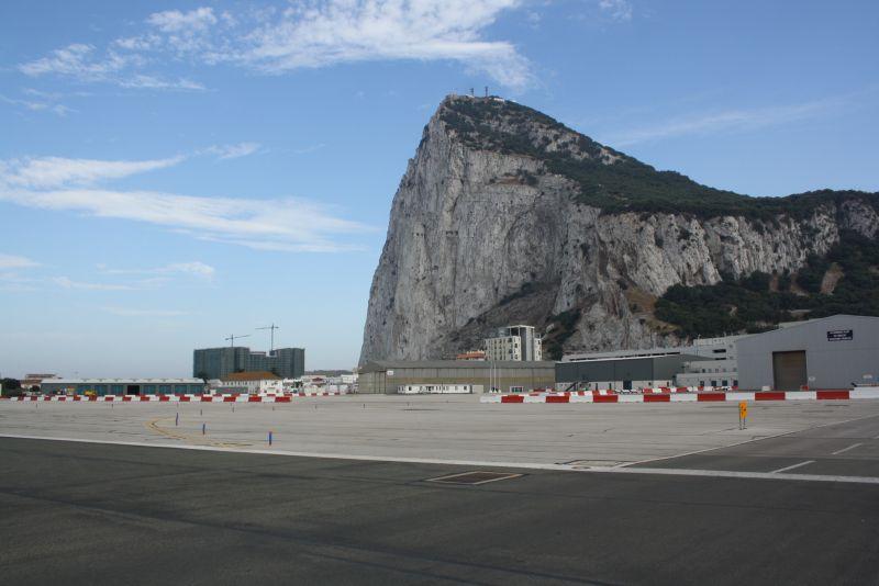 Gibraltar Grenze