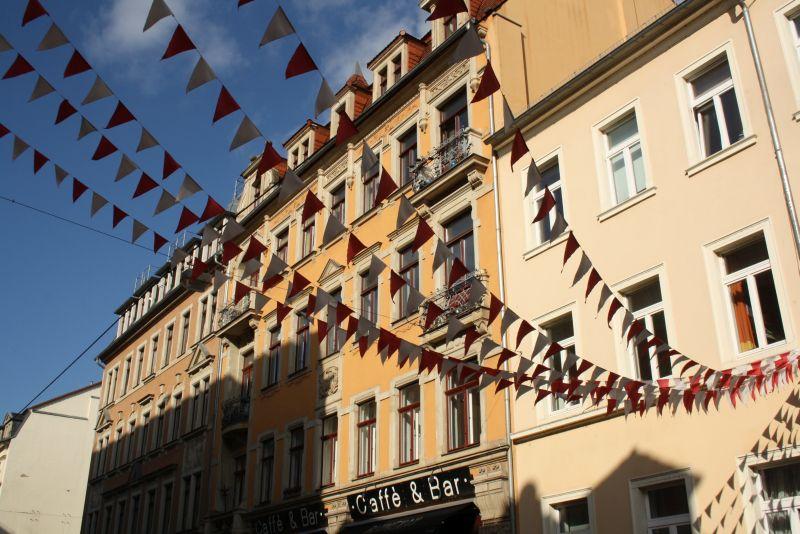 Nach Dresden reisen trotz Pegida: Die Dresdner Neustadt ist bunter als der Rest.