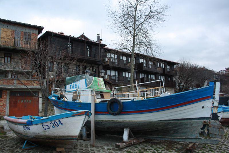 Im Hafen von Sozopol - die Stadt gilt als eine der hübschesten des Landes.