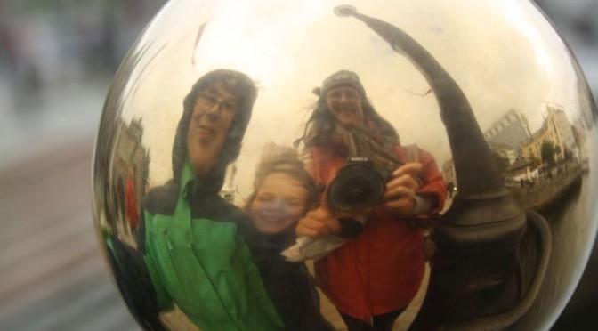 Ålesund mit Kindern: Erdbeer-Häuser und Engel-Besuch