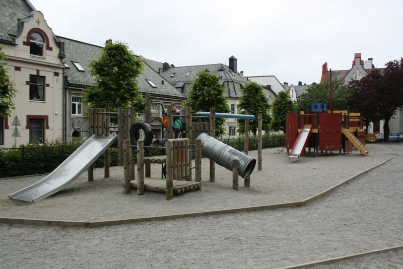 Und ganz in der Nähe gibt es auch noch einen schönen Spielplatz