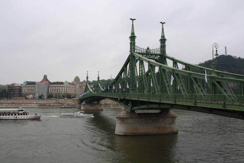 Wasserstand Donau Budapest