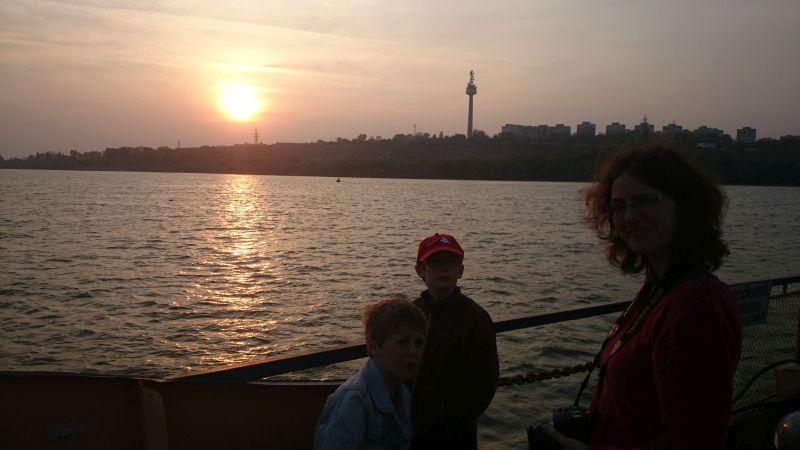 Donau-Fähre Rumänien Donaudelta.