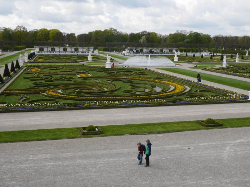 Herrenhäuser Gärten Hannover Großes Parterre