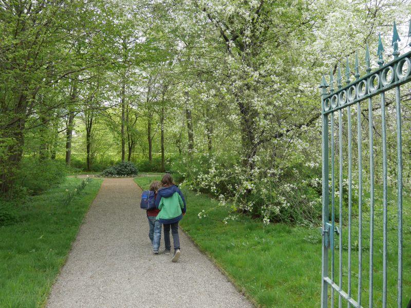 """Auf in den """"geheimen Garten"""" hinter den Buchenhecken!"""