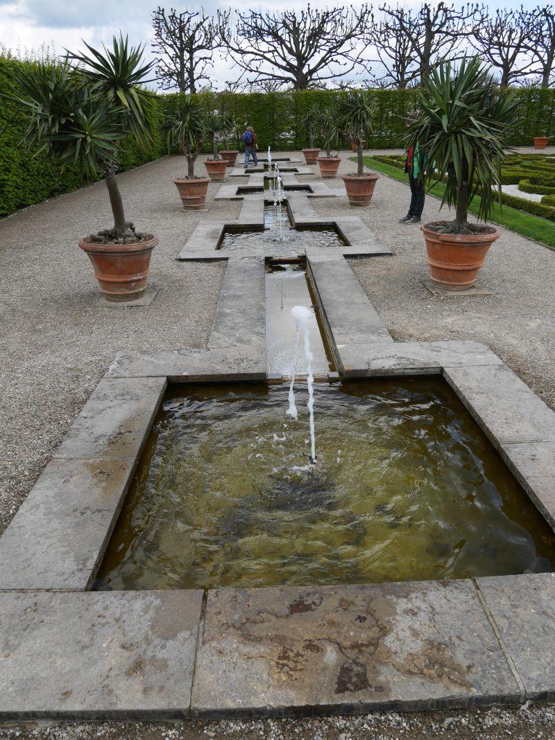 Springwasser-Garten in den Herrenhäuser Gärten.