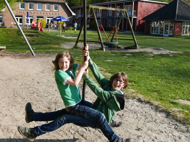 Spielplatz Jugendherberge Bad Zwischenahn.