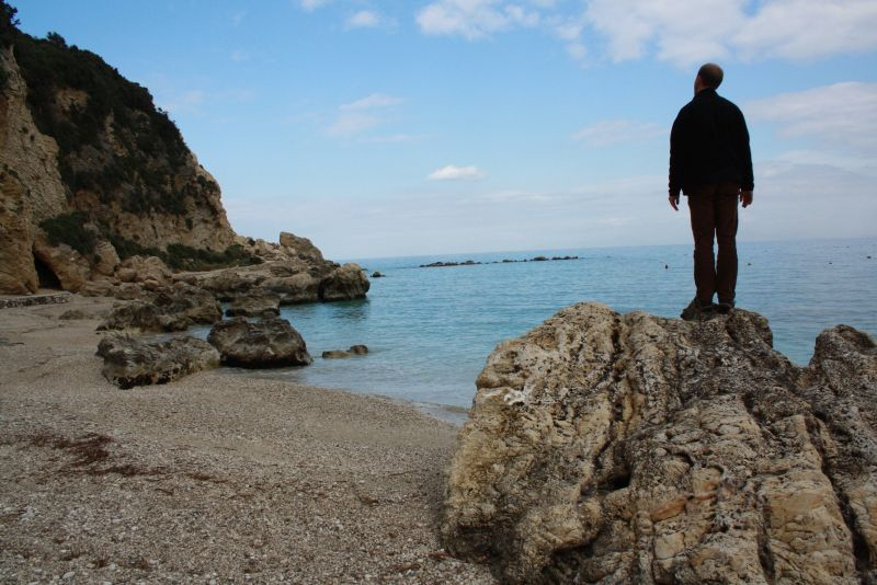 Agios Nikitas, Lefkada, Griechenland.