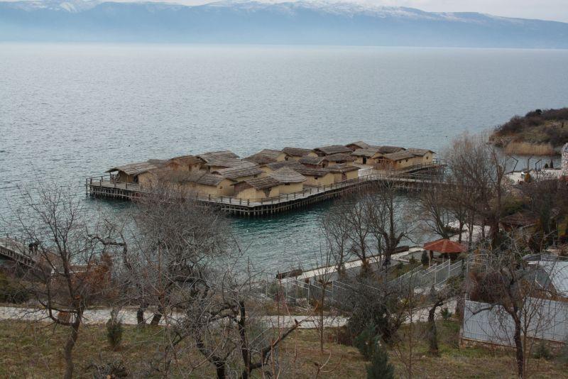 Freilichtmuseum Ohrid, Mazedonien, Bay of Bones.