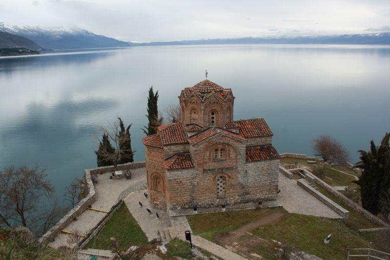 St. Johannes Kirche Ohrid, Mazedonien