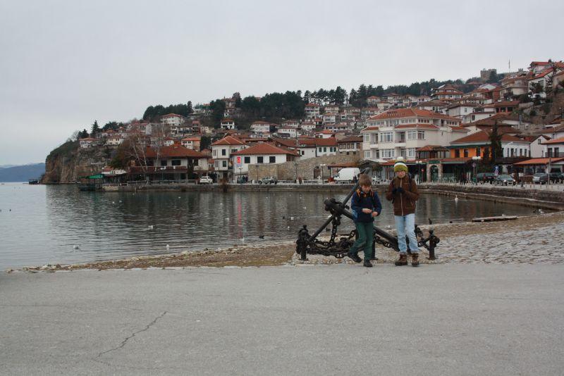 Familienurlaub am Ohridsee, Mazedonien, Ohrid.
