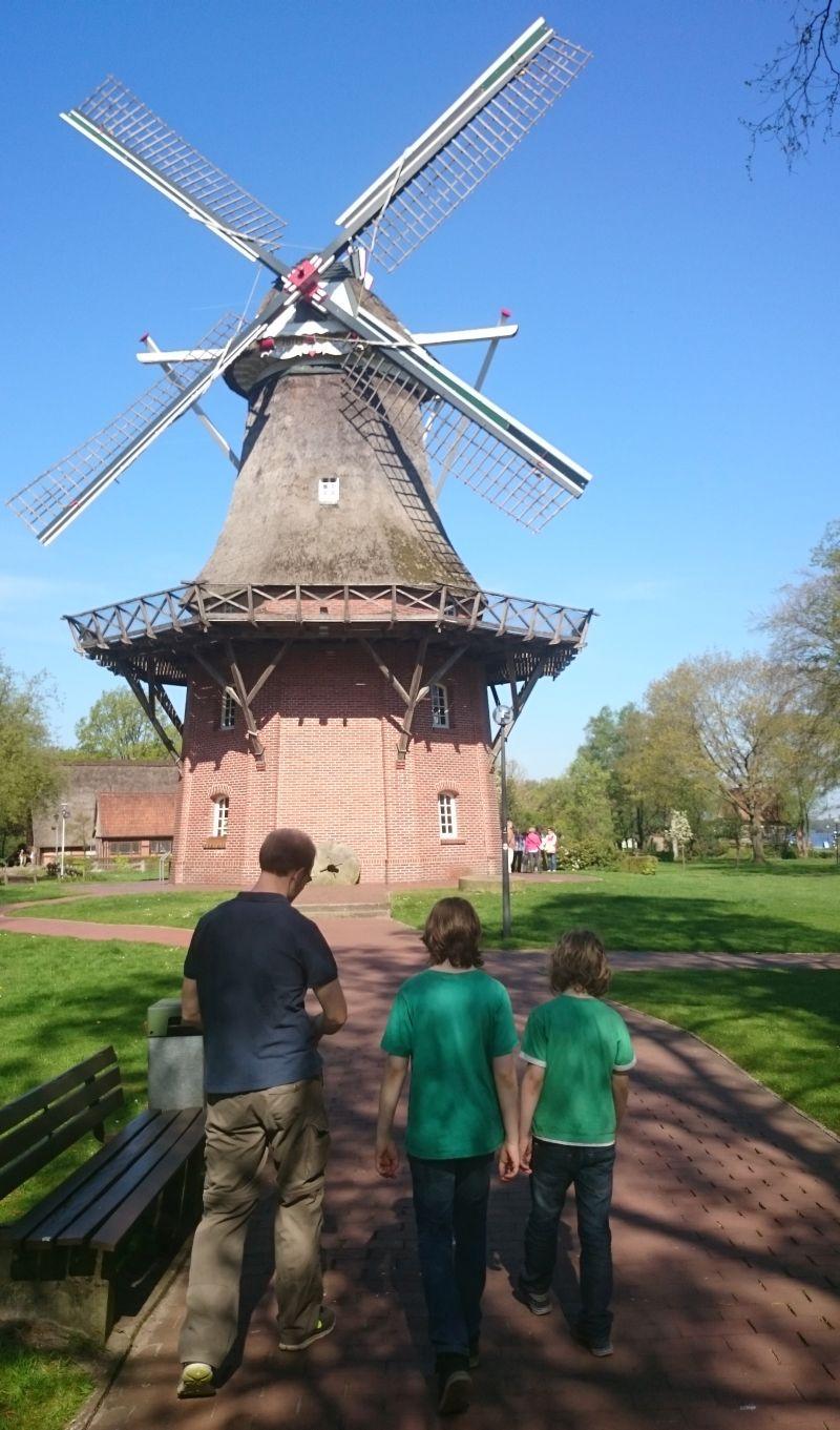 Windmühle Freilichtmuseum Bad Zwischenahn.