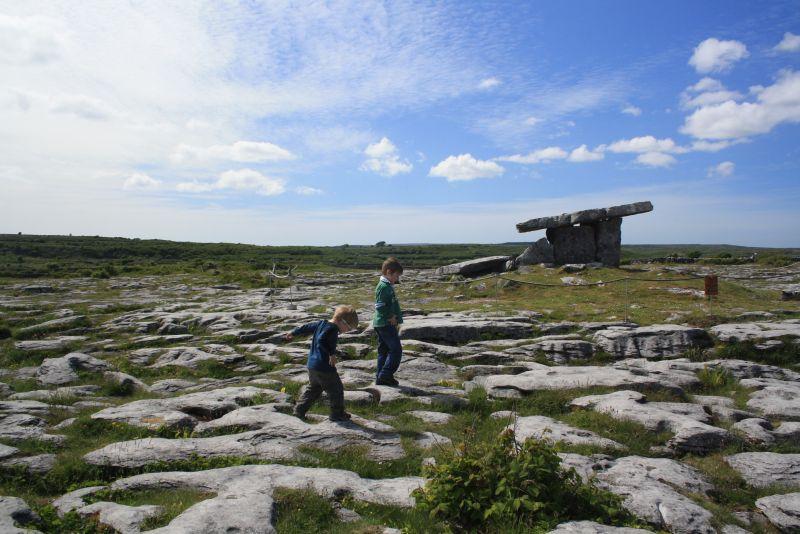 Roadtrip nach Irland mit Kindern, Pulnabrone.