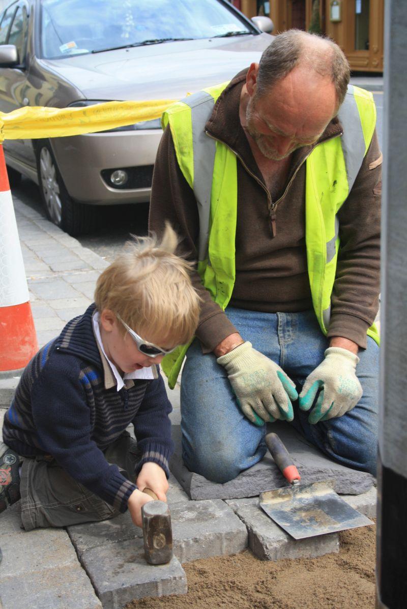 Roadtrip nach Irland mit Kindern, freundliche Iren