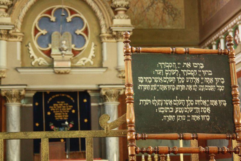 Innenraum der Synagoge von Targu Mures