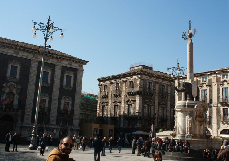 Catania, Sizilien, Elefant.