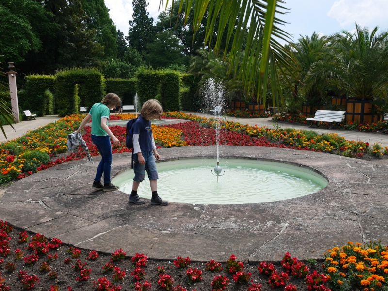 Bad Pyrmont mit Kindern, Palmengarten, Kurpark