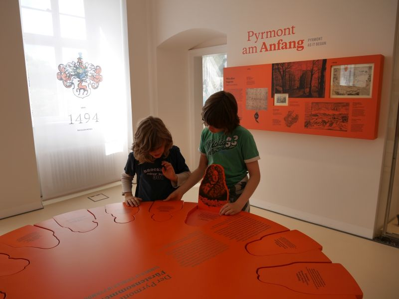 Museum Bad Pyrmont mit Kindern