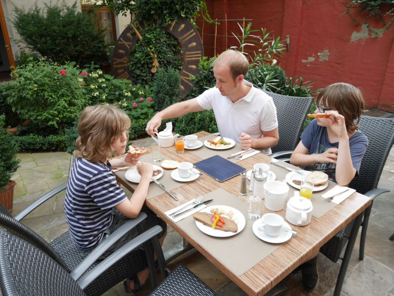 Frühstück: Boutiquehotel Stadthalle - Hoteltipp für Familien in Wien
