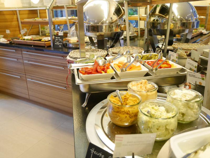 Frühstücksbuffet: Boutiquehotel Stadthalle - Hoteltipp für Familien in Wien