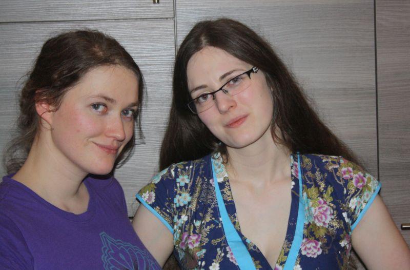 Gesa und ich 2011. Ein aktuelleres Foto von uns beiden habe ich auf die Schnelle nicht gefunden.