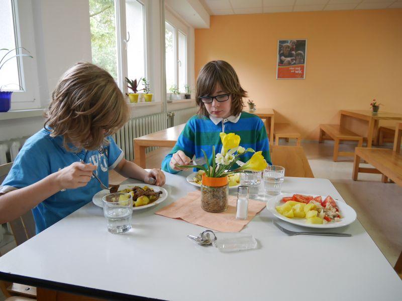 Jugendherberge Beckerwitz, Speisesaal