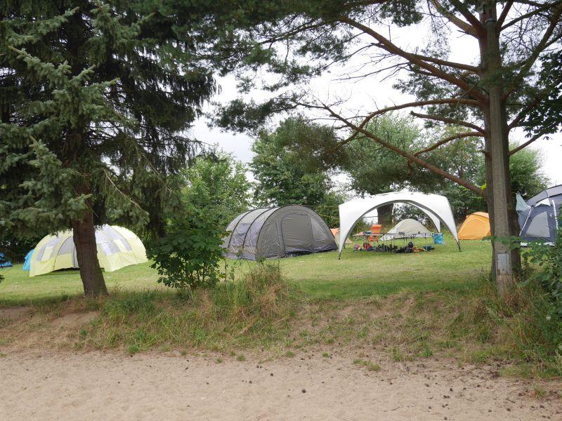 Jugendherberge Beckerwitz, Familien-Campingplatz