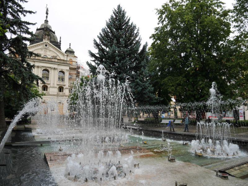 Wasserspiele Kosice, Familienurlaub in der Slowakei