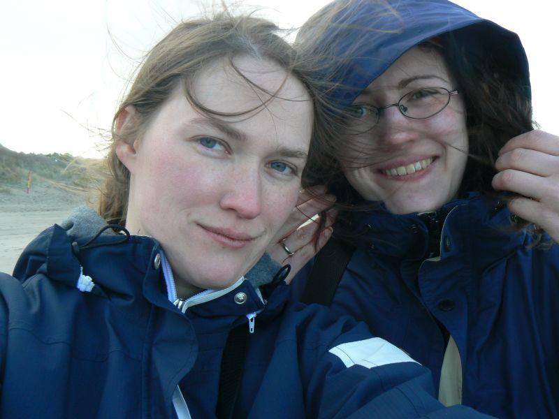 Was wir beide zum Zeitpunkt unseres Gesprächs ganz vergessen hatten: Gesa und ich sind sogar mal zusammen verreist, und zwar 2009 für eine Woche nach Irland!